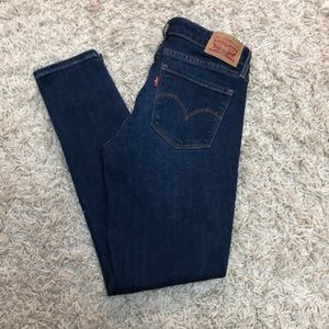 Levi 711 Skinny Ankle Jeans